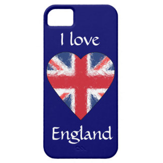 I love England Case For The iPhone 5