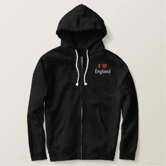 I Love England Embroidered Shirt