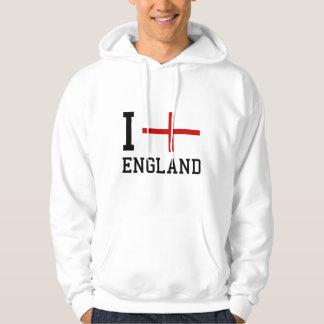 I Love England Hoodie