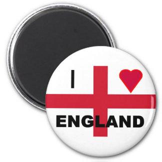 I Love England Fridge Magnet
