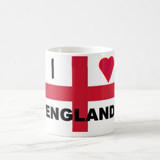 I Love England Morphing Mug