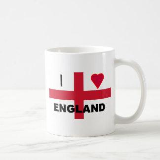 I Love England Mugs