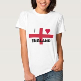 I Love England Tshirt