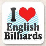 I love English Billiards Coasters