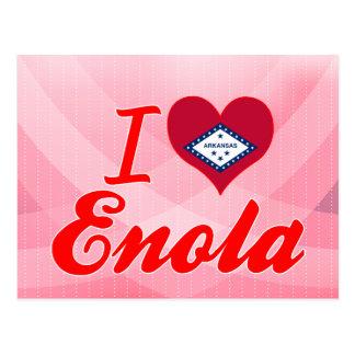 I Love Enola, Arkansas Postcard