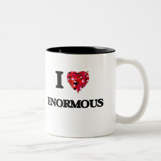 I love ENORMOUS Two-Tone Mug