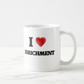 I love ENRICHMENT Basic White Mug