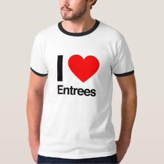 i love entree tshirts