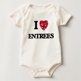 I love ENTREES Bodysuit