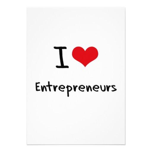 I love Entrepreneurs Announcement