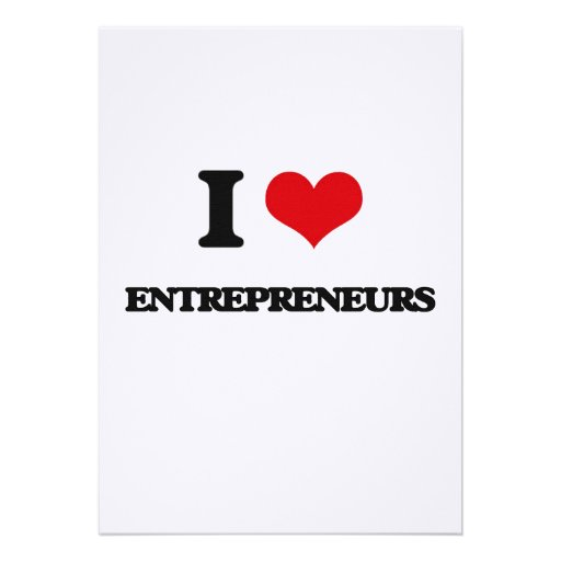 I love Entrepreneurs Card