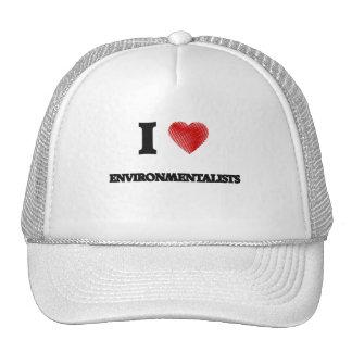 I love ENVIRONMENTALISTS Cap