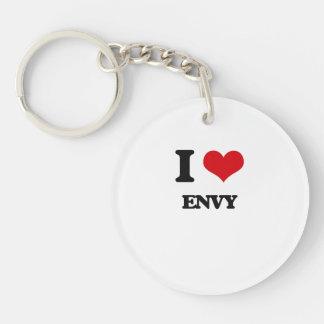 I love ENVY Single-Sided Round Acrylic Keychain