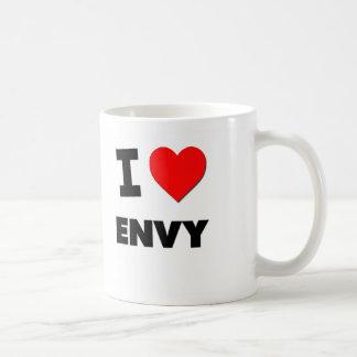I love Envy Classic White Coffee Mug