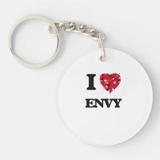 I love ENVY Single-Sided Round Acrylic Key Ring