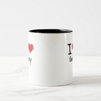 I love Envy Two-Tone Mug