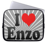 I love Enzo Laptop Computer Sleeves