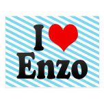 I love Enzo Post Cards