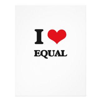 I love EQUAL Flyer Design