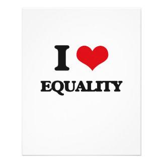 I love EQUALITY Custom Flyer
