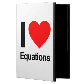 i love equations iPad air case