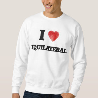 I love EQUILATERAL Pull Over Sweatshirt