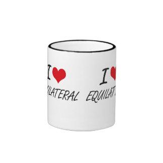 I love EQUILATERAL Ringer Mug