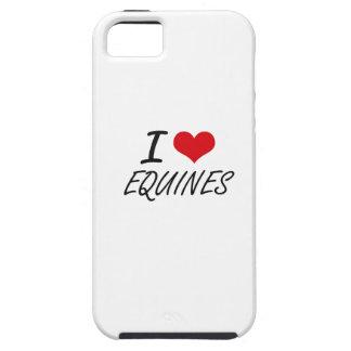 I love EQUINES Tough iPhone 5 Case