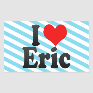 I love Eric Stickers