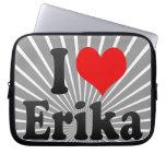 I love Erika Computer Sleeve