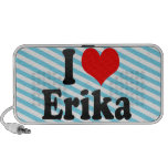 I love Erika iPod Speaker