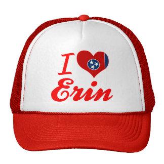 I Love Erin, Tennessee Trucker Hats