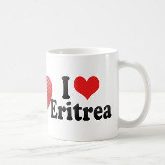 I Love Eritrea Basic White Mug