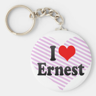 I love Ernest Keychains