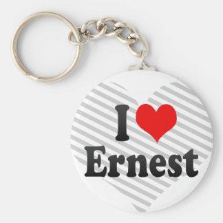 I love Ernest Keychain