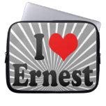 I love Ernest Laptop Computer Sleeve