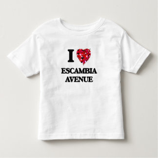 I love Escambia Avenue Alabama Tee Shirts