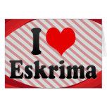 I love Eskrima Greeting Card