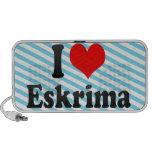 I love Eskrima iPod Speaker