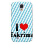 I love Eskrima Samsung Galaxy S4 Cases