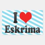 I love Eskrima Sticker