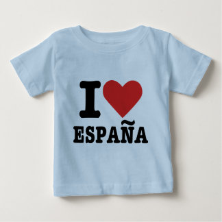 I love España - Spain Baby T-Shirt
