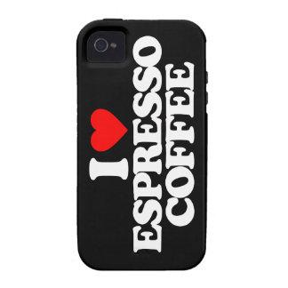I LOVE ESPRESSO COFFEE iPhone 4/4S COVERS