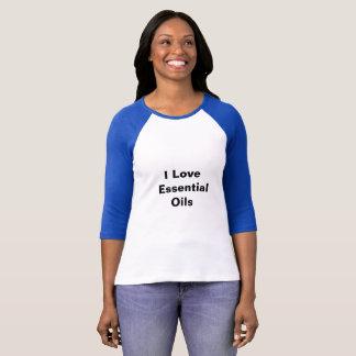 I love Essential Oils Raglan T-shirt