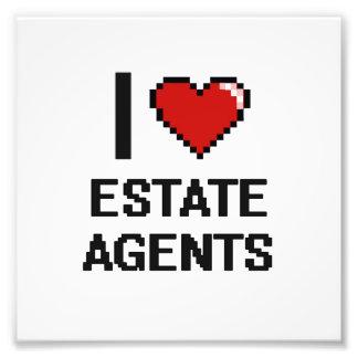 I love Estate Agents Photo Art