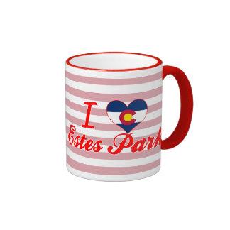 I Love Estes Park, Colorado Coffee Mug