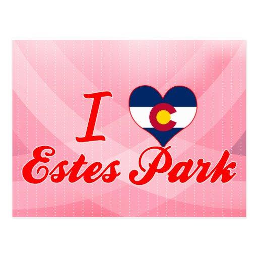 I Love Estes Park, Colorado Post Cards