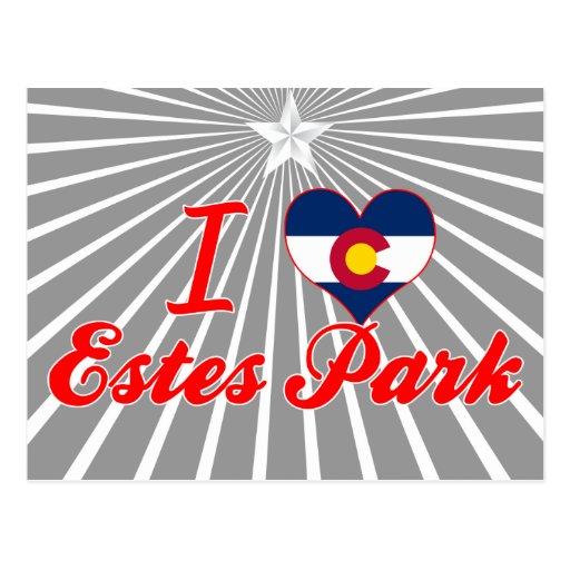 I Love Estes Park, Colorado Postcards