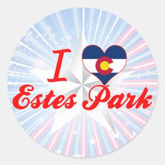 I Love Estes Park, Colorado Stickers