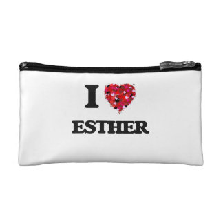 I Love Esther Cosmetic Bag